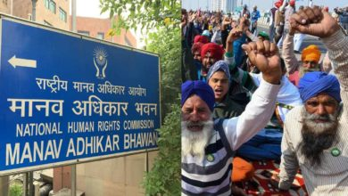 National-Human-Rights-Commission-became-strict-on-farmers'-protests
